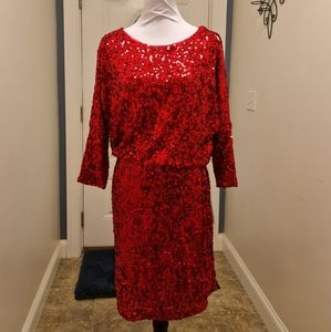 Stunning Boston Proper Knee Length Mini Dress NWT